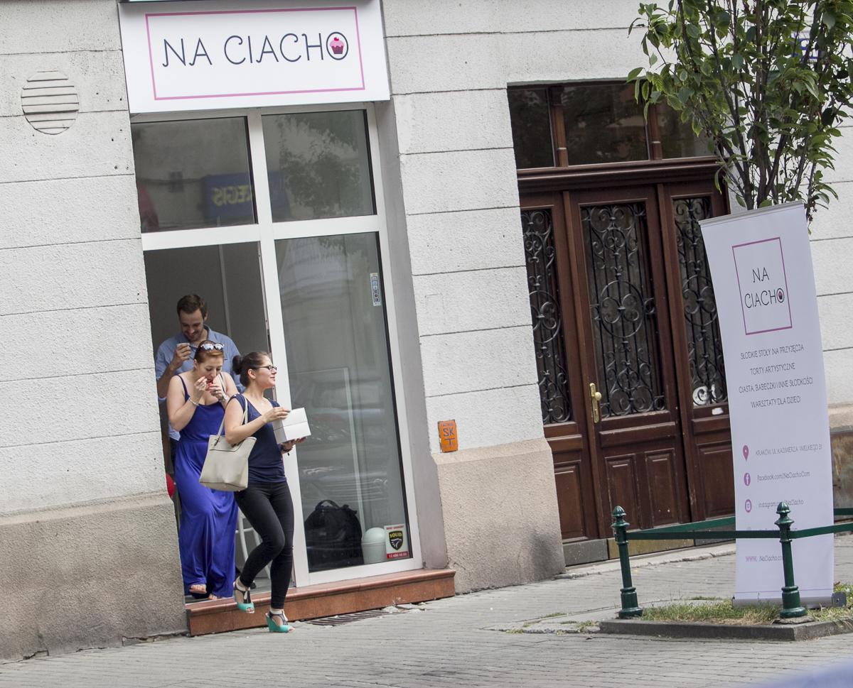"Otwarcie lokalu ""Na Ciacho"""